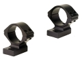 Talley Lightweight 2-Piece Scope Mounts with Integral 1&quot; Rings Tikka Matte Low