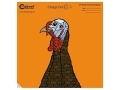 "Product detail of Caldwell Orange Peel Turkey Target 12"" Self-Adhesive Silhouette Package of 25"