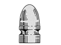 Saeco 1-Cavity Magnum Bullet Mold #910 9mm (356 to 357 Diameter) 150 Grain Round Nose