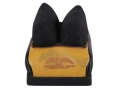 Protektor Custom Bumble Bee Dr Rabbit Ear Rear Shooting Rest Bag Nylon and Leather Tan Filled