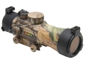 TRUGLO Red Dot Sight 42mm Tube 2x 5 MOA Red and Green Dot Reticle with Integral Weaver-Style Base Realtree APG Camo