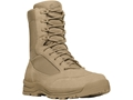 "Danner Tanicus 8"" Uninsulated Tactical Boots Leather and Nylon Tan Men's"