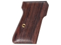 Product detail of Hogue Fancy Hardwood Grips Walther PP, PPK/S Rosewood