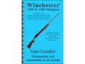 "Product detail of Gun Guides Takedown Guide ""Winchester 1300 Shotguns"" Book"