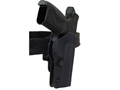 Double-Alpha IDPA PDR-PRO Holster Glock 17, 22, 34, 35 Kydex Black