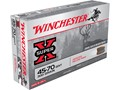 Winchester Super-X Ammunition 45-70 Government 300 Grain Jacketed Hollow Point Case of 200 (10 Boxes of 20)