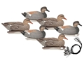 Hard Core Pre-Rigged Gadwall Duck Decoy Pack of 6