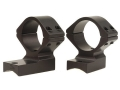 Talley Lightweight 2-Piece Scope Mounts with Integral 1&quot; Extended Front Savage 10 Through 16, 110 Through 116 Round Rear, Axis Matte Medium