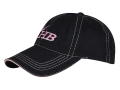 Heartland Bowhunter HB Logo Women's Cap Cotton Black and Pink