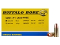 Buffalo Bore Ammunition 9mm Luger +P+ 95 Grain Barnes TAC-XP Jacketed Hollow Point Lead-Free Box of 20