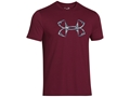 Under Armour Men's UA Hook Logo T-Shirt Short Sleeve Cotton and Polyester Blend