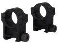 Trijicon 1&quot; Accupoint Aluminum Picatinny-Style Rings Matte Extra High