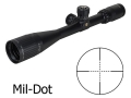Bushnell Elite 3200 Tactical Rifle Scope 5-15x 40mm Adjustable Objective Mil-Dot Reticle Matte