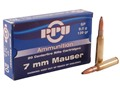 Product detail of Prvi Partizan Ammunition 7x57mm Mauser (7mm Mauser) 139 Grain Soft Point Box of 20