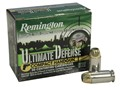 Remington Ultimate Defense Compact Handgun Ammunition 45 ACP 230 Grain Brass Jacketed Hollow Point Box of 20
