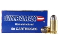 Product detail of Ultramax Remanufactured Ammunition 45 ACP 230 Grain Lead Round Nose