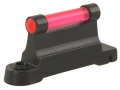 "NECG Ruger Front Ramp Replacement Front Sight .435"" Height Steel Blue 3/32"" Fiber Optic Red"