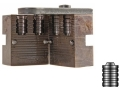 Lyman 2-Cavity Bullet Mold #358091 38 Special, 357 Magnum (358 Diameter) 150 Grain Wadcutter Bevel Base