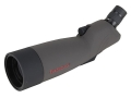 Tasco World Class Spotting Scope 20-60x 60mm Angled Eyepiece with Tripod and Hard Case Armored Black