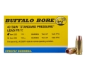 Buffalo Bore Ammunition 40 S&amp;W 125 Grain Barnes TAC-XP Jacketed Hollow Point Lead-Free Box of 20