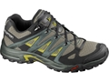 "Salomon Eskape Aero 4"" Hiking Shoes Synthetic Nile Green/Titanium/Corylus Men's"