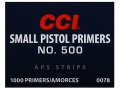 Product detail of CCI Small Pistol APS Primers Strip #500