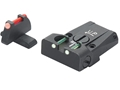 LPA TTF Adjustable Sight Set Sig P220, 225, 226, 228 Steel Fiber Optic