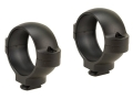 Burris 1&quot; Signature Dual-Dovetail Rings Matte Medium