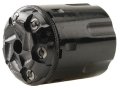 Howell&#39;s Old West Conversions Drop-In Conversion Cylinder 44 Caliber Pietta 1858 Remington Steel Frame Black Powder Revolver 45 Colt (Long Colt) Fluted 6-Round Blue