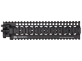Daniel Defense Lite Rail 10.0 Free Float Tube Handguard Quad Rail AR-15 Extended Mid Length Aluminum Black