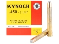 "Product detail of Kynoch Ammunition 450 Nitro Express 3-1/4"" 480 Grain Woodleigh Welded Core Soft Point Box of 5"