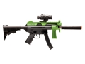 Crosman Z71 Zombie Eraser Airsoft Rifle 6mm Electric Full-Automatic Polymer Black and Green