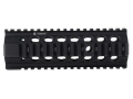 "Troy Industries 7.2"" Bravo Battle Rail Free Float Quad Rail Handguard AR-15 Black- Blemished"