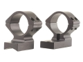 Talley Lightweight 2-Piece Scope Mounts with Integral 1&quot; Rings Savage 10 Through 16, 110 Through 116 Flat Rear Matte Medium