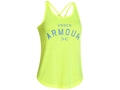 Under Armour Women's Graphic Tank Top Shirt Synthetic Blend