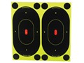 Birchwood Casey Shoot-N-C Target 7&quot; Silhouette Package of 60 with 240 Pasters