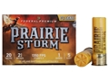 "Federal Premium Prairie Storm Ammunition 20 Gauge 2-3/4"" 1 oz #5 Plated Shot Shot Box of 25"