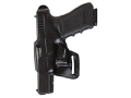 Bianchi 75 Venom Belt Holster Left Hand 1911 Government Leather Black