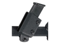 "Safariland 771 Magazine Pouch Adjustable 1-1/2"" Belt Loop 1911, Ruger P90, Sig Sauer P220, S&W 1006 Tactical Laminate Black"