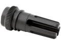 "Advanced Armament Co (AAC) Blackout Flash Hider 51-Tooth Ratchet Suppressor Mount 7.62mm AR-10, LR-308 5/8""-24 Thread Steel Matte"