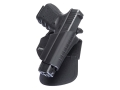 Product detail of Fobus Level 2 Retention Roto Belt Holster Right Hand Glock 17, 19, 22, 23, 31, 32, 34, 35 Polymer Black