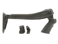 Advanced Technology Marine Top Folding Stock with Pistol Grip Remington 870, Mossberg 500, 590, 835, Winchester 1200, 1300 12 Gauge Polymer Black