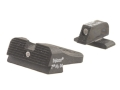 Heinie Straight Eight SlantPro Night Sight Set Sig Sauer P225, P226, P228, P239 Steel Blue Tritium
