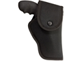 "Uncle Mike's Hip Holster with Flap S&W X-Frame 460, 500 8.375"" Barrel Nylon Black"