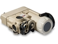 Steiner DBAL-D2 Dual Beam Aiming Laser Green with IR LED Illuminator, Quick Detach Picatinny-Style Mount
