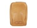 Protektor Standard Rear Shooting Rest Bag Leather Tan Unfilled