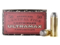 Ultramax Cowboy Action  Ammunition 45 Colt (Long Colt) 250 Grain Lead Flat Nose Box of 250