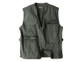 Woolrich Elite Lightweight Discreet Carry Vest Cotton Canvas