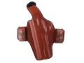 Bianchi Classified Outside the Waistband Holster Left Hand 1911 Leather Tan