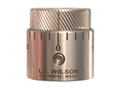 L.E. Wilson Chamber Type Seater Die Micro-Adjust Cap Stainless Steel